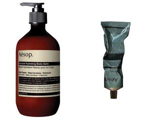 [新品] Aesop「堅毅辛香身體乳霜」全新活力配方,提供保濕滋養