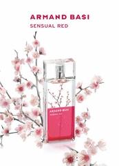[新品] ARMAND BASI SENSUAL RED 銀柳花開女性香水