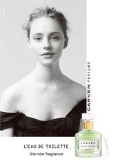 [新品] CARVEN「同名女性淡香水」,自由而奔放, 呈現優雅浪漫的法式風情。