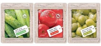 [新品] A`PIEU韓國人氣保養品牌新品溫暖上市,年輕肌膚的自然系面膜專家