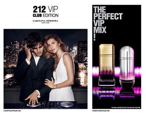 [限量] Carolina Herrera「212 VIP 電音派對男/女香氛」誕生 音樂最佳代表