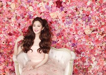 瑪宣妮秋季全新形象,女神系夢幻秀髮,沉浸在奢華香氛裡