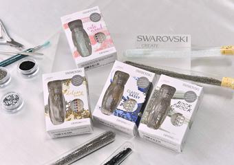施華洛世奇創意手作呈獻革命性「水晶砂美甲盒」,為雙手注入無可比擬光彩