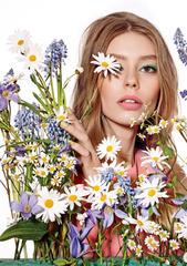 Dior春季彩妝【繁花盛開系列】輕柔粉彩與微金屬光,打造輕柔粉彩少女妝