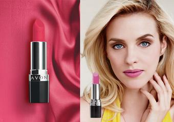 AVON雅芳 - 「極霧面絲絨唇膏」持久、顯色、絲絨般滑順 好萊塢紅毯彩妝師 教妳打造100%「紅毯特霧唇」