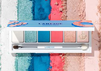 蘭芝 - 夏日水手瘋玩色 寧靜風格藍 玫瑰石英粉 創造個人專屬色彩