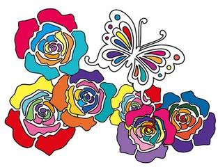 [母親節] 2010 ANNA SUI 母親節  Psychedelic 彩色魔法 花漾迷境
