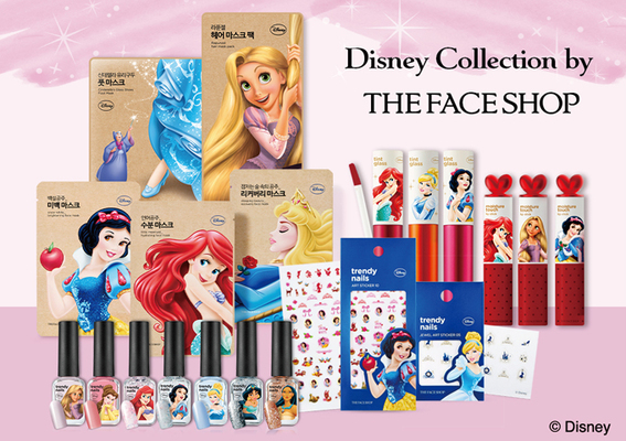 THE FACE SHOP - DISNEY collection 獻給每個有公主心的妳