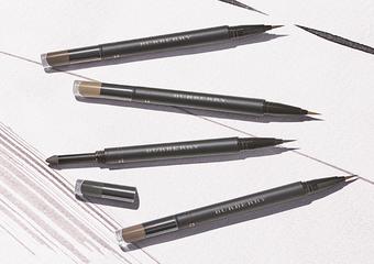 BURBERRY - 與彩妝形象代言人IRIS LAW 全新推出「貓眼雙效眼線」與「多效豐盈眉筆」
