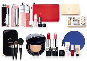 [2017週年慶] Dior - 年度鉅獻 花漾迪奧經典香氛 限量時尚彩妝 指定櫃點限量商品 全台限量300組