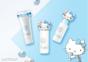 freeplus - 攜手日本最萌療癒系Hello Kitty,夢幻保養禮盒限量發售