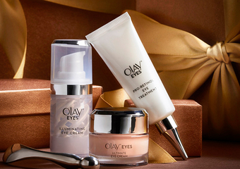 OLAY - 風靡全美眼霜系列 全新在台上市「臻緻全效眼霜」3合1全效修護