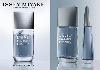 ISSEY MIYAKE -「一生之水激浪淡香水」水的力量 浪的浩蕩