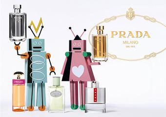 Prada - 機器人大舉入侵!為香氛染上節慶氣氛 Prada 邀您共度另類童趣的耶誕佳節