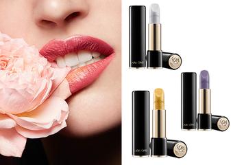 蘭蔻 - 「絕對完美唇膏」金、銀、紫 3 大金屬色 展現細膩光澤質感 神美升級2.0