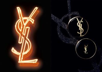 YSL - 最狂的LOGO設計 就是炫耀「恆久完美氣墊粉餅」時尚LOGO限量版登場