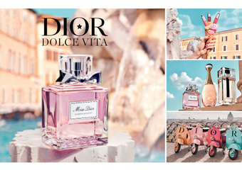Dior - 我的羅馬假期 信義區首登場 許願池、Vespa兜風經典橋段 揭開羅馬假期篇章