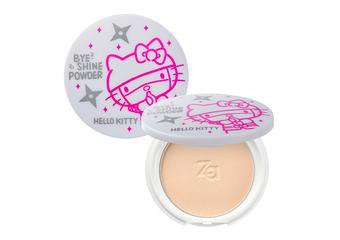 Za - 首度與Hello Kitty聯名 史上最可愛蜜粉餅 忍術般 隱形妳的油光