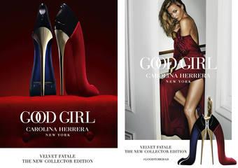 CAROLINA HERRERA - 以全新「GOOD GIRL絲絨限量女性淡香精」讓極致性感香氛成為現代女性的秘密武器