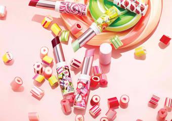 ZA - 一抹注入水潤保濕與鮮明色彩的果汁唇彩「果汁糖繽紛唇彩」9月限量發售