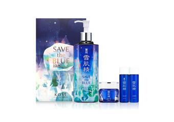 Kose - SAVE the BLUE限定森林版包裝上市~你變得美,地球也會變得更美