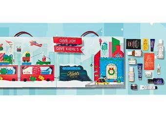 KIEHL'S - 繽紛色彩、童趣聖誕躍上經典明星產品 最具話題倒數月曆變身 一卡皮箱一次擁有