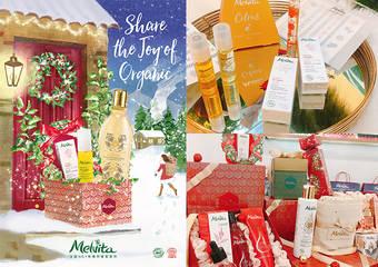 Melvita - 聖誕老人敲敲門!白色大地冬遊歷險,滿載大自然金色獻禮 2018/11/23-12/26