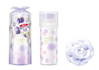 EVITA 艾薇塔 - 女孩的聖誕禮物首選!經典再推出全新香氣 夢幻淺紫玫瑰潔顏泡沫 限量上市!