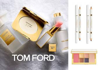 TOM FORD - 2018【太陽輕吻極光之旅限量系列】今年聖誕 TOM FORD 以舞動的虹色光芒,為你開啟幸運的2019