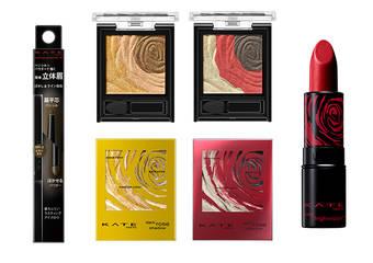 KATE - 華麗玫紅點亮眼眸與唇瓣,完美詮釋低調奢華的紅粧時尚,超人氣「深玫絲絨眼影盒」「高顯色映象唇膏」限定色,2019年1月新發售!