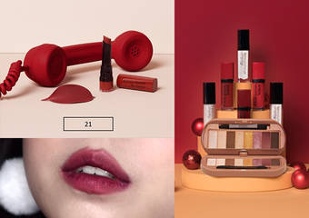 妙巴黎 - 舞夜巴黎,百變唇彩,用法國空運來台的專櫃級開架彩妝 揭開你的繽紛聖誕序幕