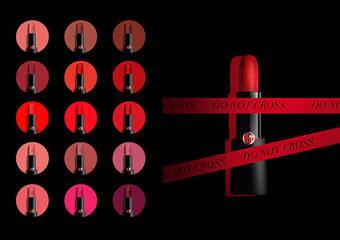 Giorgio Armani - 展現亞曼尼女人主掌性感誘惑的女人味「奢華訂製柔霧唇膏」全新乳霜質地,飽和致命15色,征服霧感唇膏思維