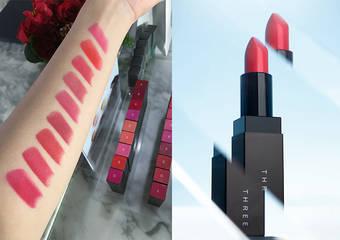 THREE - 向自我挑戰,演繹不同身分的霧感美唇「我型謎霧光唇膏」、「我色輕潤光唇膏」、「我型遊色眼采霜」、「魅光指彩」2019年1月1日台日同步發售
