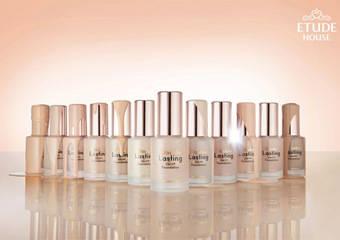 ETUDE HOUSE - 全年熱銷「長效待肌」商品 推出全新「長效待肌~光澤透顏精華粉底」立即霸佔女孩化妝包