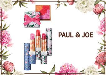 PAUL & JOE - 2019 Spring Collection 巴黎花坊限量春妝系列