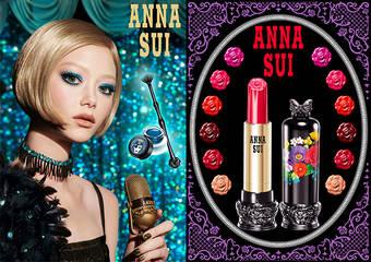 ANNA SUI - 歡慶春季的來臨,在妳的眼皮與雙唇上任意地揮灑色彩吧!用全新的妝容迎接全新的一年!