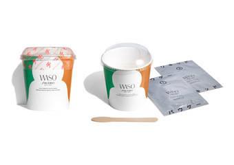 資生堂國際櫃 - 業界首創 讓肌膚吃的QQ麻糬 日本女生完美肌膚的秘密---WASO「Q彈麻糬面膜」