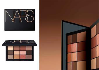 NARS - 裸得膚淺、也能裸得有深度,最襯膚色的『可可盤』 打造純粹可可「深度膚淺12色眼彩限盤」2019年1月中上市