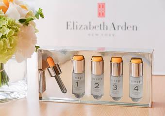 伊麗莎白雅頓 - 煥膚唯一小橘瓶氣勢誕生「艾地苯煥采新生安甁」每天、每週看見肌膚在發光