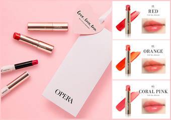 OPERA - 情人節限定活動席捲台灣,用花嫁唇色傳達對你的愛戀