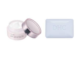 DHC - 「緊緻平紋美頸霜」「礦物泥美膚皂」3月新品上市