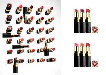 香奈兒 - 「COCO晶亮水唇膏」「COCO晶亮增色水唇膏」一目了然,一筆顯色,完美無瑕