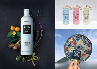 AVEDA - 珍愛大自然,是女孩們最美麗的生活態度!「純香沐浴乳」地球月限量版上市