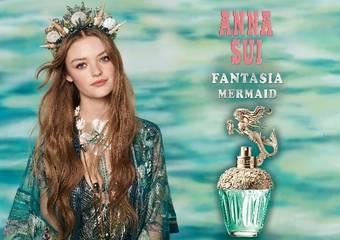 ANNA SUI - 閃耀粼粼波光的香氣「童話美人魚淡香水」 游夢探險的海底奇遇