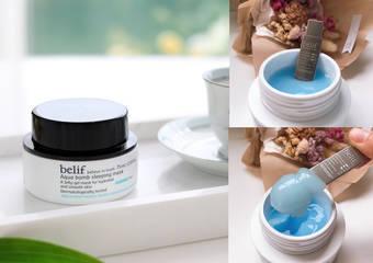 belif - 「斗篷草高效水分炸彈晚安凍膜」肌膚的水分Q彈記憶枕