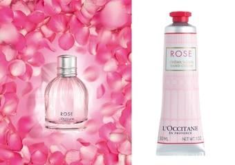 歐舒丹 -【玫瑰花園香氛系列】跨時代香氛經典 完美演繹現代女性的典雅迷人魅力