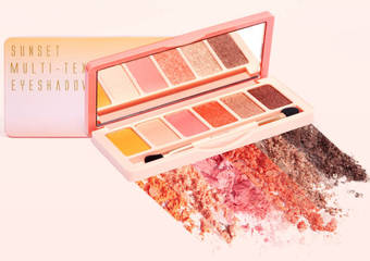 BeautyMaker - 大勢流行色珊瑚橘 浪漫夕陽漸層妝 薄透親膚顯色粉體 一抹就上色打造完美暈染妝