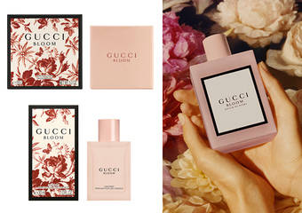 GUCCI - 「花悅香氛身體保養系列、花悅春日淡香水」限量版 4月上市