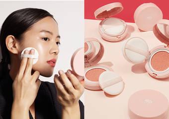 品木宣言 - 首款氣墊「天生麗質粉美肌氣墊素顏霜」 -1抹2拍3發光,打造零毛孔粉美肌-