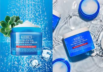 Kiehl's - 最適合夏季的No.1清爽保濕凝凍!無油水感質地 輕鬆好吸收 肌膚喝飽水 與「油光」「毛孔」說Bye Bye
